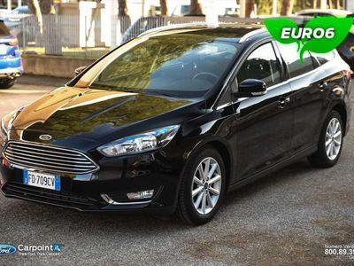 brugt Ford Focus SW 1.5 tdci Titanium s&s 120cv powershift
