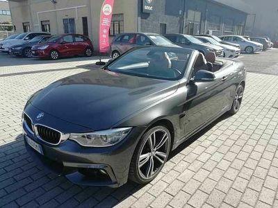 usata BMW 420 d cabrio Msport 190cv auto