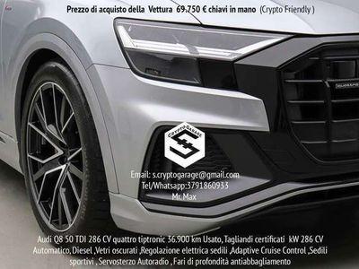 usata Audi Q8 50 TDI 286 CV quattro tiptronic S-Line Sport