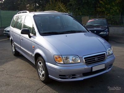 brugt Hyundai Trajet 2.0 CRDi TD 16V GL Comfort 7 posti,radio cd,fendin