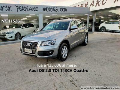 usata Audi Q5 2.0 TDI 143CV Quattro