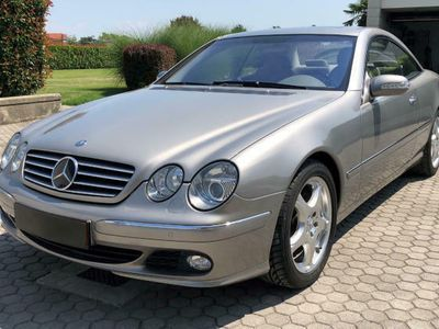 used Mercedes CL500 cat