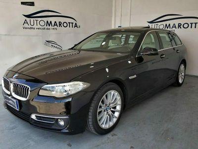 usata BMW 525 Serie5 (F10/F11)Touring Luxury PELLE BIANCA-TETTO