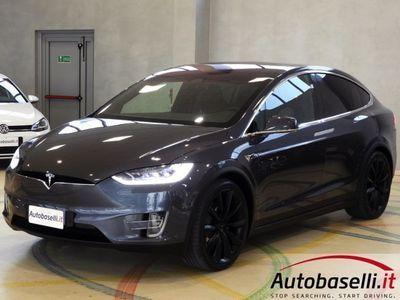 usata Tesla Model X 100D 6 POSTI AWD FULL LED PELLE NAVIGATORE 4X4