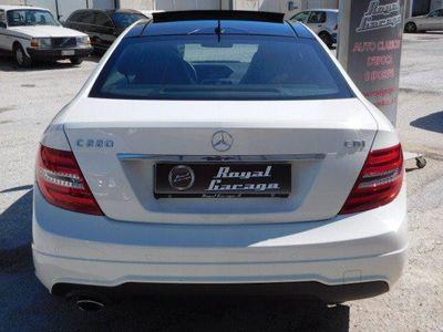 usata Mercedes C220 CDI COUPE' PAC AMG AVANTGARDE BlueEFFICIENCY
