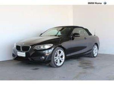 usata BMW 220 d Cabrio Advantage Diesel