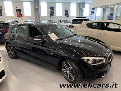 brugt BMW 120 d 5p. Sport - AUTOMATICO - LED - SOLO 36000KM