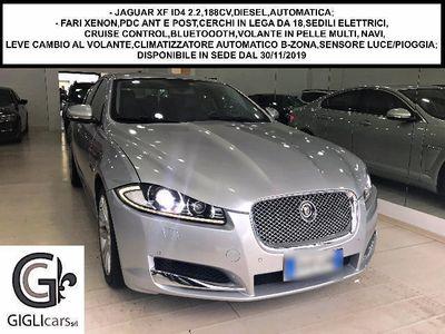usata Jaguar XF ID4 2.2,188CV/XENON/NAVI/PDC/C.LEGA18/