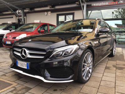 usata Mercedes C220 d S.W. 4Matic Auto Premium AMG PREZZO REALE