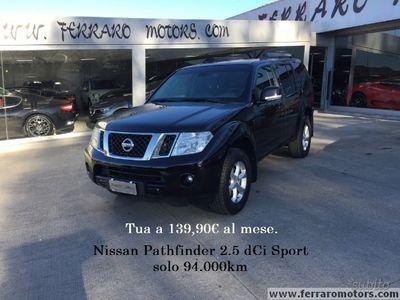 usata Nissan Pathfinder 2.5 dCi Sport solo 94.000km