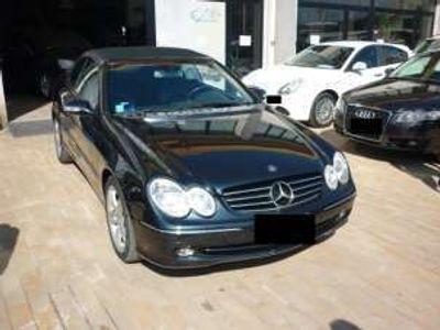 usata Mercedes CLK200 kompr. tps cat cabrio avantg. benzina