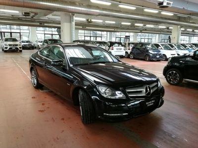 usata Mercedes C220 CDI BlueEFFICIENCY Coupé Executive Roma