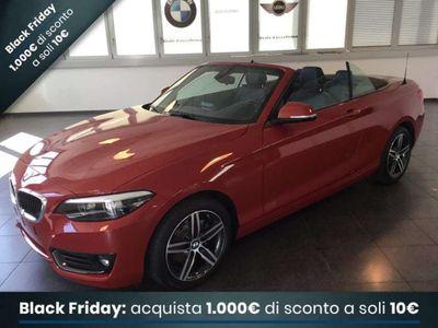 usata BMW 220 SERIE 2 CABRIO I CABRIO ADVANTAGE