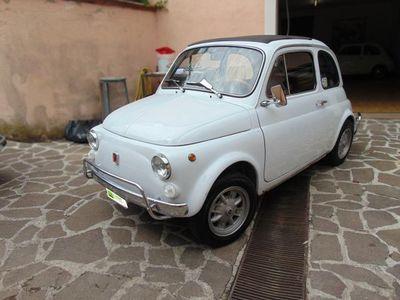second-hand Fiat 500L 110 F completamente restaurata, iscritta ASI.