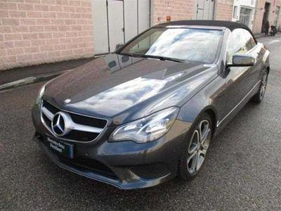 usado Mercedes E350 BlueTEC Cabrio Automatic Sport