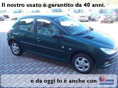 usata Peugeot 206 Roland Garros 1.4benz. 5pt