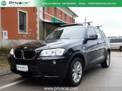 usata BMW X3 F25 xdrive20d