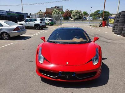 usata Ferrari 458 Tetto Nero