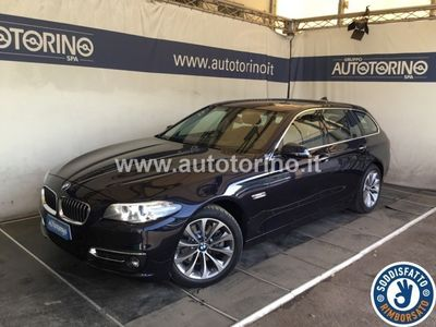 brugt BMW 518 SERIE 5 TOURING d touring Luxury 150cv