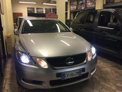 usata Lexus GS300 24V Plus KM 104.000 LIBRETTO TAGLIANDI UNICO PROPR
