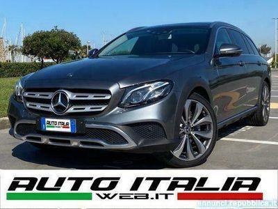usata Mercedes E220 S.W. 4MATIC ALL-TERRAIN+TETTO+20+BURMESTER+EAD
