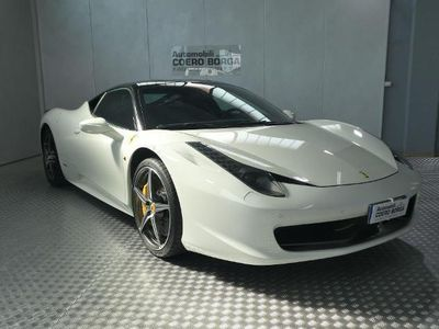 usata Ferrari 458 458 ItaliaItalia DCT