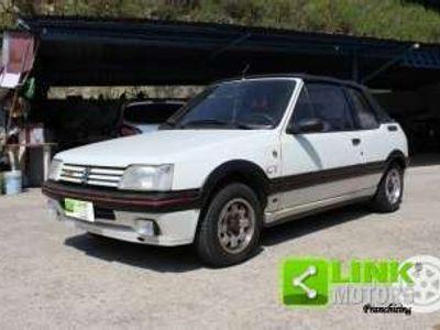 usata Peugeot 205 cabriolet ct benzina
