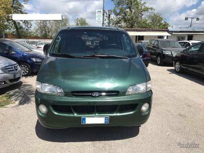 usata Hyundai H-1 - 2001 - 7 posti - Gancio Traino