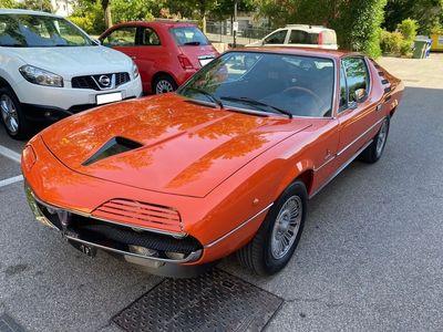 usata Alfa Romeo Montreal TIPO 105.64 V8 2.593CC – STUPENDO ED ECCEZIONALE ABBINAMENTO CROMATICO – ECCELSA E MANIACALE (1971)