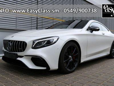usata Mercedes S63 AMG S 63 AMG4Matic+ Coupé AMG MY