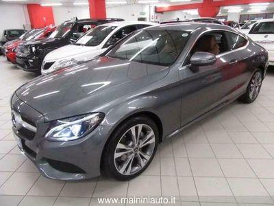 usata Mercedes 220 Classe C CCoupé Sport + Fari Xeno + Navigatore