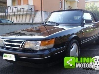 usata Saab 900 Cabriolet Turbo versione uniproprietario iscritta ASI