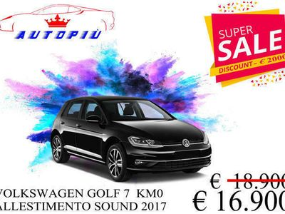 usata VW Golf 1.6 TDI 115 CV 5p. Sport BlueMotion