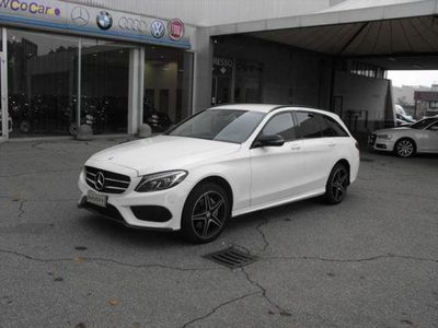 usata Mercedes 220 Classe C CS.W. 4Matic Premium Automatic con pacchetto AMG