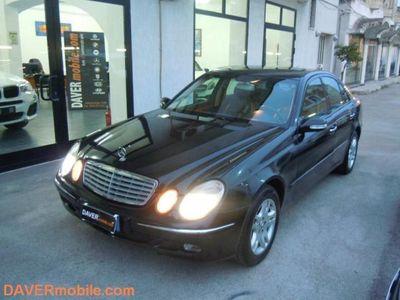 gebraucht Mercedes E320 classecdi avantgarde diesel tre volumi automatico nero
