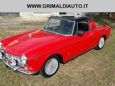 usata Fiat 1500 SPIDER HARD-TOP PININFARINA -CAPOTE ORIGINALE