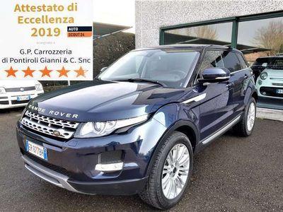 usata Land Rover Range Rover evoque 2.2 Sd4 Prestige - STORICO MANUTENZIONI - UNI.PROP
