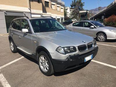 usata BMW X3 3.0d cat Futura automatica tetto navi pelle xeno