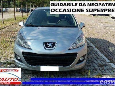 used Peugeot 207 1.4 8v 75cv 5porte benzina