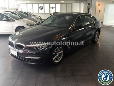 used BMW 520 SERIE 5 BERLINA d Business auto