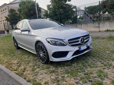 usata Mercedes C250 BlueTEC S.W. 4Matic Automatic AMG