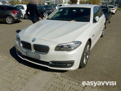 usado BMW 525 d xdrive luxury pelle tabacco tagliandi diesel