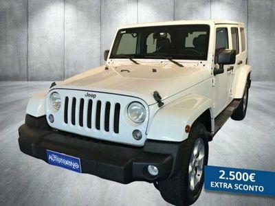 usata Jeep Wrangler Unlimited 2.8 crd Sahara auto E5+
