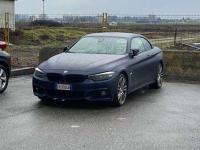 usata BMW 440 Serie 4 Cabrio(F33) xDrive Cabrio Msport