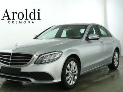 usata Mercedes C200 auto eq-boost hybrid exclusive aziendale