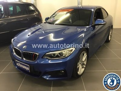 used BMW 220 SERIE 2 COUPE d coupe Msport 184cv auto