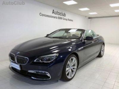 usata BMW 650 Cabriolet i luxury benzina