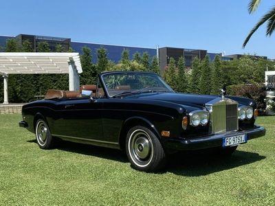 usata Rolls Royce Corniche Mulliner Park Ward ISCRITTA