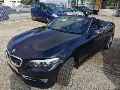 usata BMW 218 serie 2 d cabrio luxury valuto permuta parziale