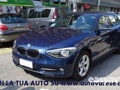 usata BMW 118 d 5p. sport autom. tagliandi diesel